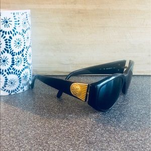 Fendi Black Gold Prescription Sunglasses Frames